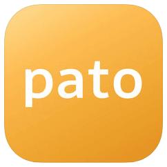 パパ活専門「pato」のロゴ