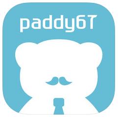 パパ活専門「paddy67」のロゴ