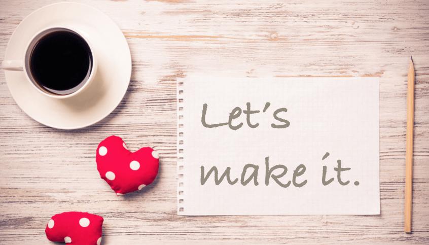 Let's make it.