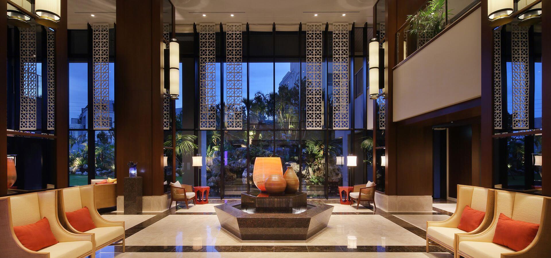沖縄でパパ活におすすめなホテル「ハイアット リージェンシー 那覇 沖縄」